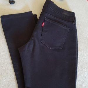 Levi's Jeans - Levi's 545 Skinny Leg jeans in black sz 4 med